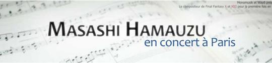 Masashi Hamauzu en concert � Paris