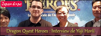 Japan Expo 2015 : Notre interview de Yuji Horii
