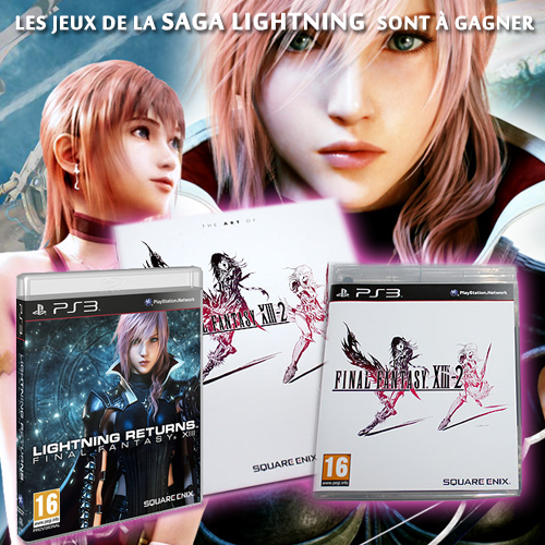 Concours Lightning Returns - Lots
