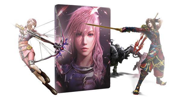 Pack de précommande Final Fantasy XIII-2