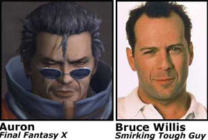 Auron / Bruce Willis
