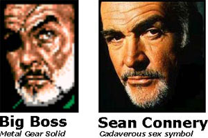 Big Boss / Sean Connery
