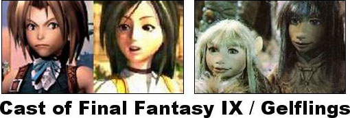 Cast FFIX / Gelflings