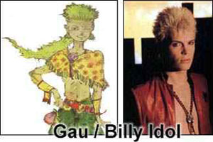 Gau / Billy Idol