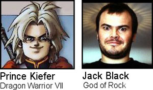 Prince Kiefer / Jack Black