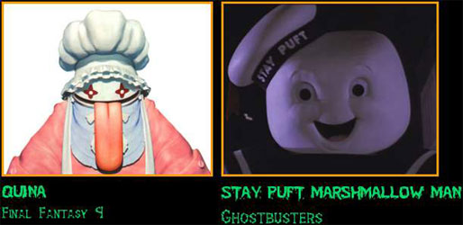 Quina / Stay Puft Marshmallow Man