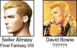 Seifer Almasy / David Bowie