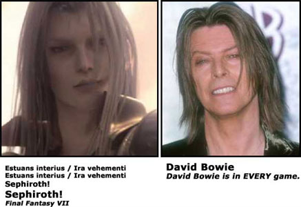 Sephiroth / David Bowie