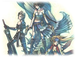 Final Fantasy X-2 ~ Artwork