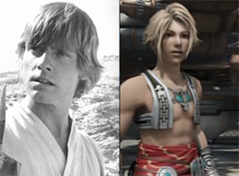 Luke Skywalker & Vaan