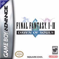 Couverture FF I + II: Dawn of Souls