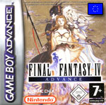 Couverture FF IV GameBoy Advance Eu Front