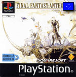 Couverture FF Anthologie PlayStation Europe Front