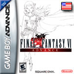 Couverture FF VI GBA US Front