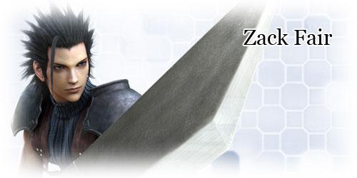 Zack Fair Crisis Core Final Fantasy Vii Ffdreamcom