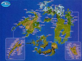 World Maps - Final Fantasy VIII - FFDream.com