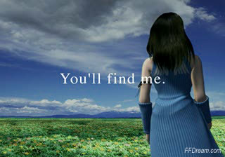 You'll find me.