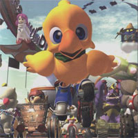 Chocobo Racing Back