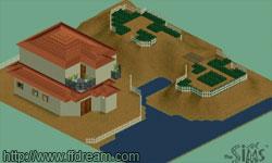 FF7 Aeris's House