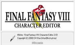 Final Fantasy VIII Character Editor